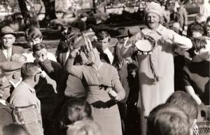 Sister Ada preaching in Sydney, circa 1970