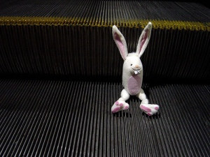 Bunny with escalator