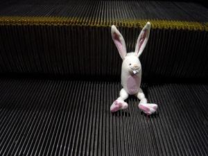 Bunny with escalator