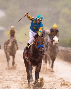 Triple Crown American Pharoah & jockey